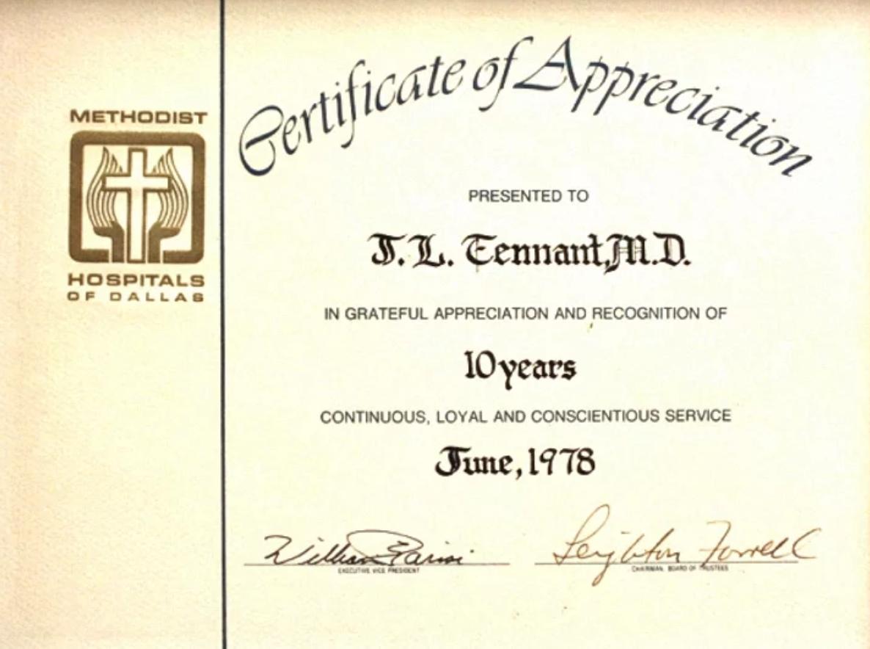 Dr.JerryTennant1978 – METHODIST APPRECIATION